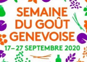 Participation à la SEMAINE DU GOÛT GENEVOIS 2020